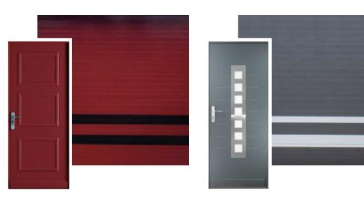 Porte de garage à Oullins